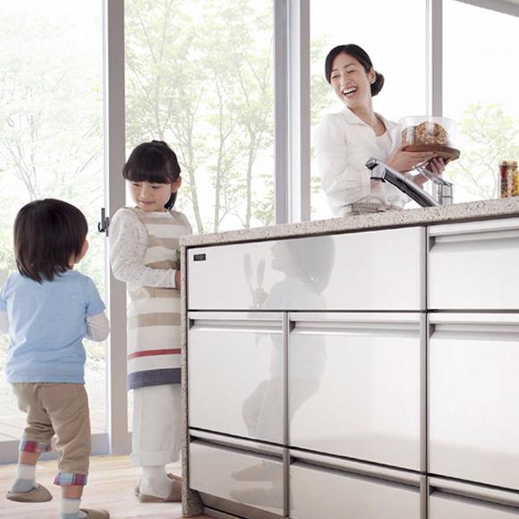 キッチンのリフォームのことならお任せ下さい。千葉県流山市・柏市・松戸市・野田市を中心にすぐにお伺いいたします。